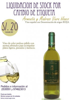 Armentia y Madrazo - Viña Armentia (12 un.)